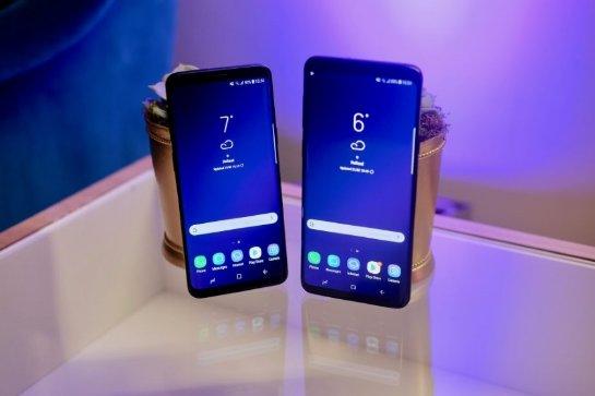Samsung Galaxy S9/S9+ появились на фотографиях в цвете «Burgundy Red»