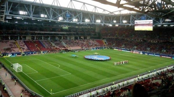 Инопланетяне наблюдали за матчем на стадионе «Ростов-Арена»