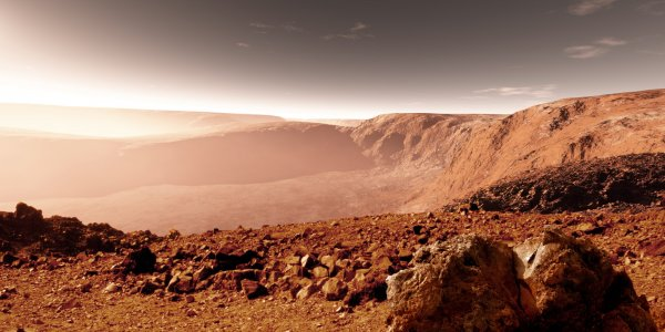 Уфолог увидел на снимках с Марса таинственное лицо