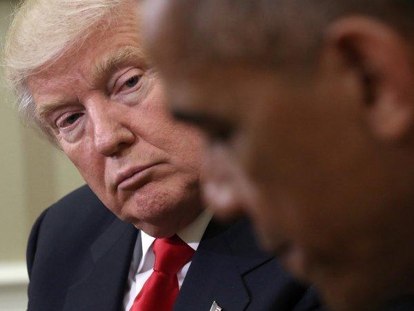 Трамп разыскивает компромат на Обаму