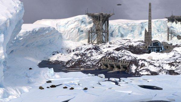 В Антарктиде обнаружили секретную базу Третьего рейха