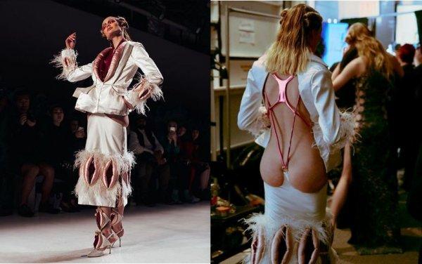Бренд модной одежды Namilia осмелился украсить одежду половыми органами