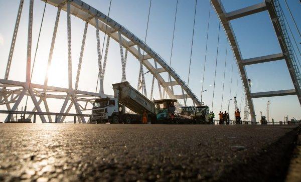 Украина предложила использовать Крымский мост после «возвращения» полуострова