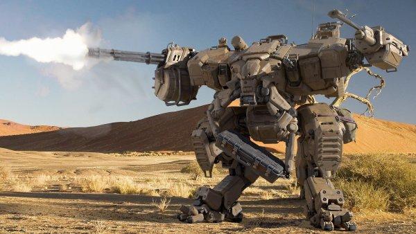 С секретной базы США сбежал агрессивный военный робот