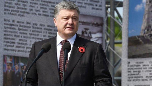 «Нацизм победил украинский солдат»: Порошенко поздравил украинцев с 9 мая