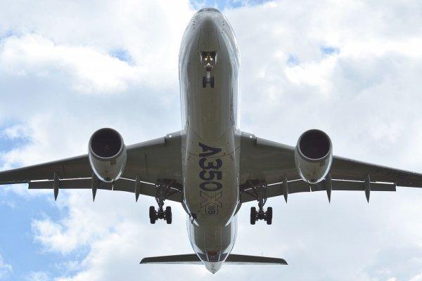 Самолет совершил опасный маневр в небе над Берлином