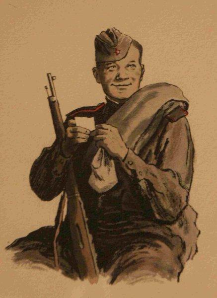 «Пусть о Тёркине почтенный скажет важно генерал»: В Петербурге открыли мемориальную доску герою поэмы Твардовского