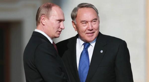 Путин восхитился лидерскими качествами Нурсултана Назарбаева
