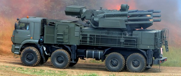 Ракета Израиля уничтожила «Панцирь-С1» России в Сирии