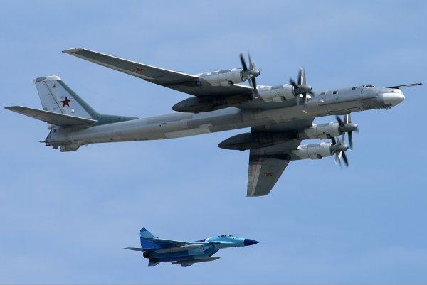 Самолёты ВВС США перехватили российские бомбардировщики у берегов Аляски