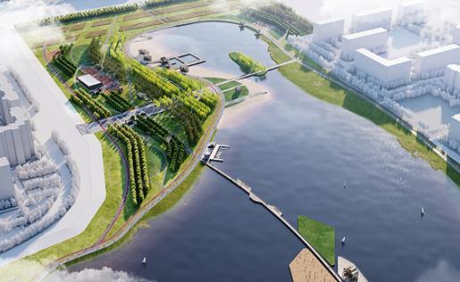 На юго-востоке Москвы построят парк с искусственными островами