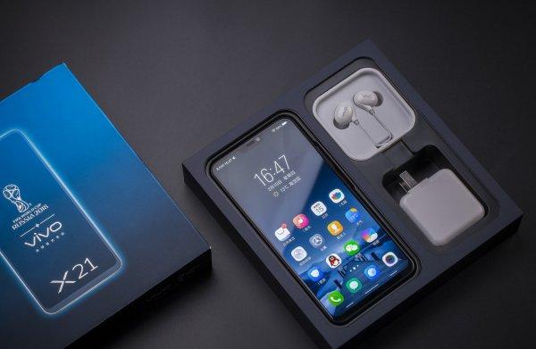 Компания Vivo представит новую модель своего смартфона X21 UD 29 мая в Индии