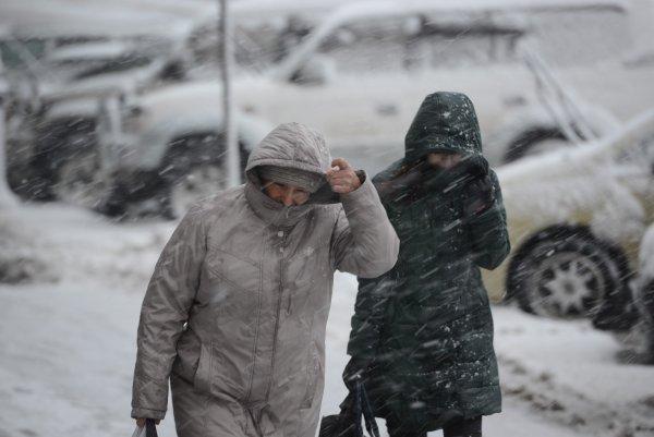 Жители севера Амурской области удивлены выпавшим снегом