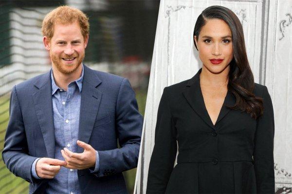 Елизавета II дала добро на свадьбу принца Гарри и Меган Маркл