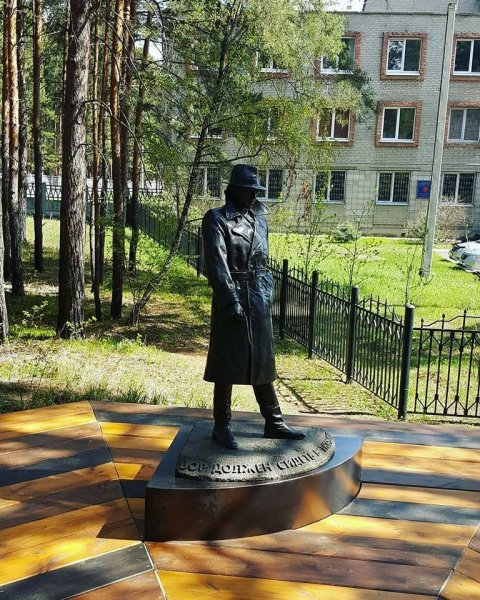 Глебу Жеглову установили памятник в парке Ангарска