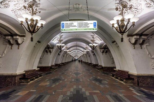 Движение по синей ветке Московского метро восстановлено