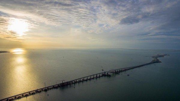 Как строился Крымский мост: Опубликовано 3-минутное видео строительства