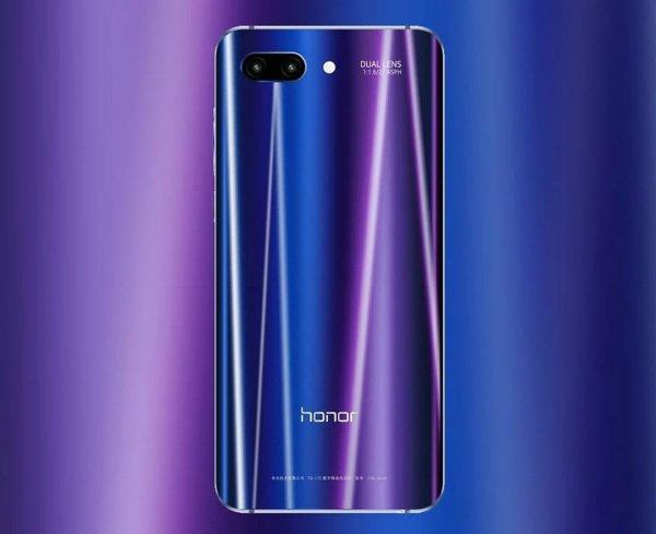 Названа цена флагманского смартфона Huawei Honor 10 в России