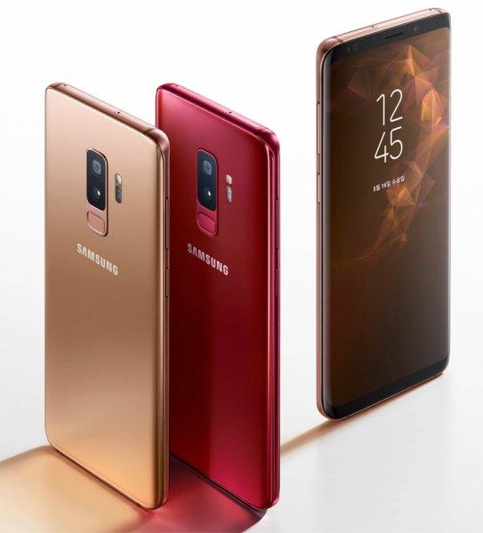 Samsung представила два новых цвета для Galaxy S9 и S9+