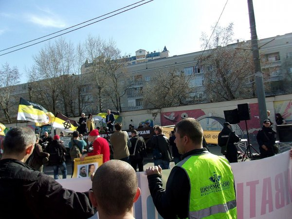 В Москве нападавших на митингующих казаки выпороли нагайками