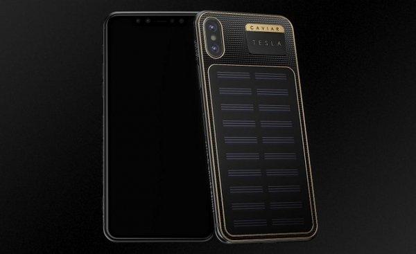 Илон Маск первым получил российский самозаряжающийся iPhone X