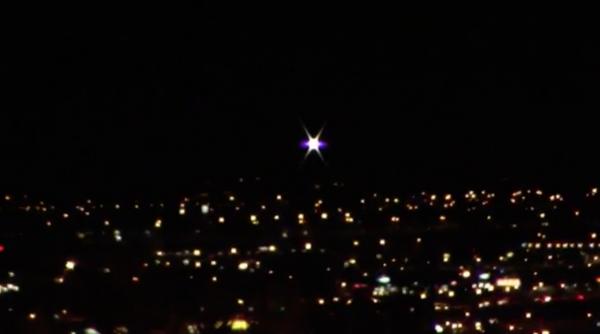 Над Лас-Вегасом очевидец запечатлел уникальный НЛО