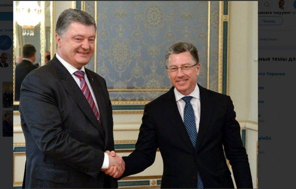 Порошенко в очередной раз просил США о помощи в действиях на Донбассе