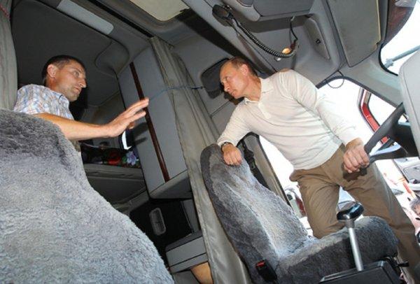 В ФСО рассказали, по какой причине Путин не пристегнулся в автомобиле «КамАЗ»