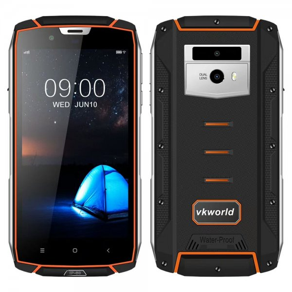 Стартовал предзаказ защищённого смартфона Vkworld VK7000