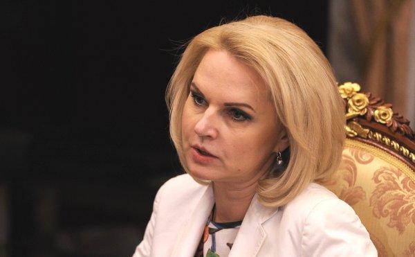 Татьяна Голикова расплакалась за трибуной Госдумы