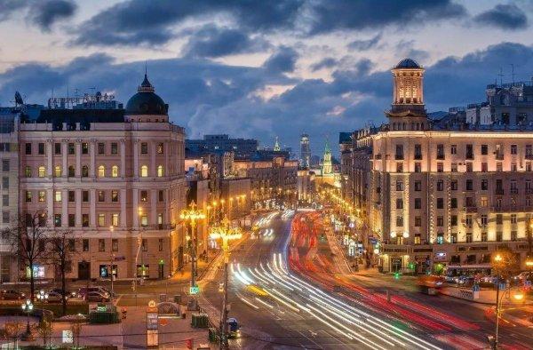 В День России Тверская улица станет пешеходной
