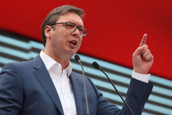 Вучич рассказал, почему Сербия не вводит санкции против России