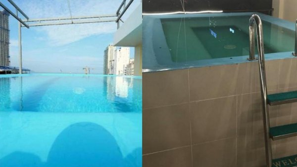 Отель во Вьетнаме шокировал туристов фейковым бассейном
