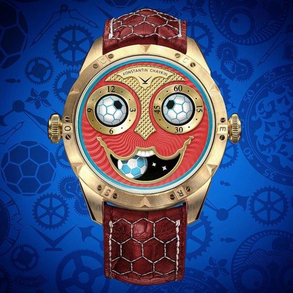 Часовой мастер Чайкин выпустил лимитированную серию «Джокера» к ЧМ-2018