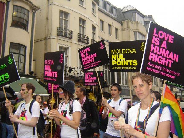 В центре Кишинева гей-парад установил рекорд