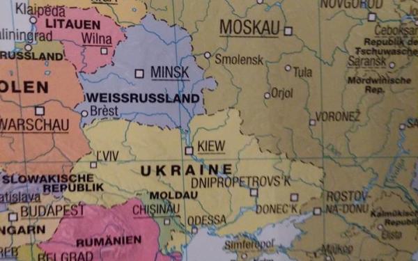 Украина возмутилась немецкой картой с российским Крымом