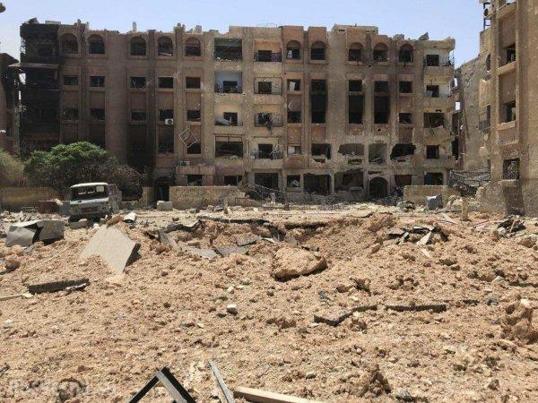 Генштаб РФ сообщил об освобождение Дамаска и эвакуацию 188 тыс. сирийцев