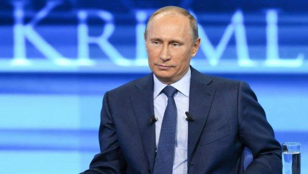 Кремль: Прямая линия с Путиным состоится до 14 июня