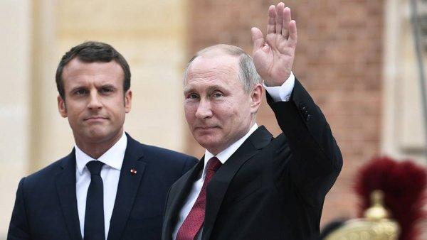Путин сообщил, что вопреки сложностям, отношения России и Франции развиваются