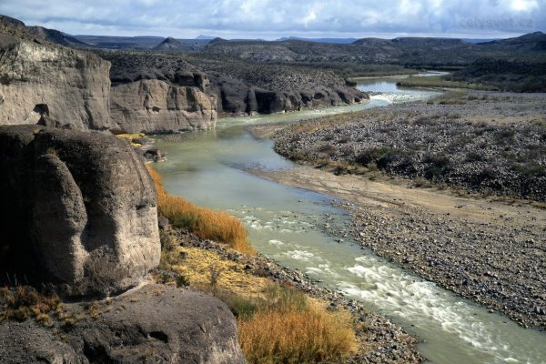 Глобальное потепление угрожает реке Рио-Гранде в США