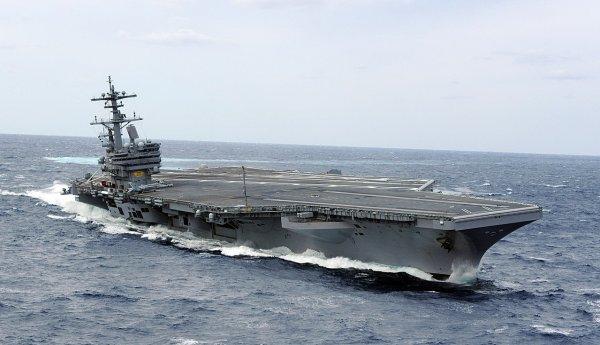 Авианосец ВМС США направили на патрулирование в Тихом Океане