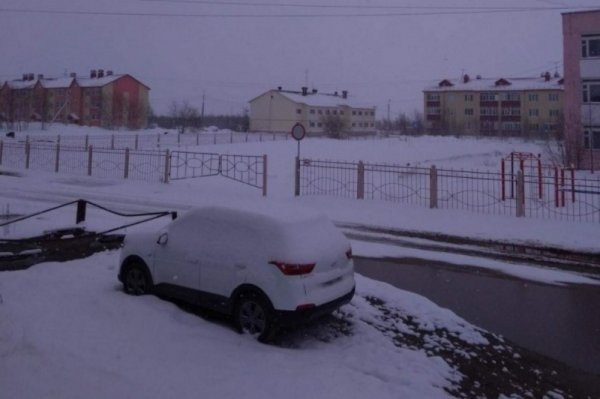Зима летом: Ямал засыпало слоем снега
