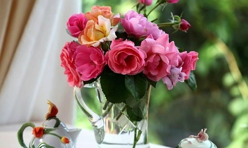 Красивые букеты из роз от нашей доставки