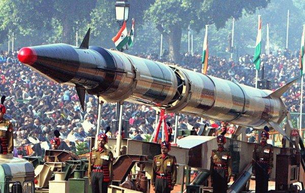 Индия удачно протестировала баллистическую ракету «Агни-5»