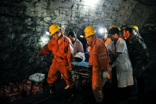 В Китае в результате взрыва на шахте погибли 11 человек
