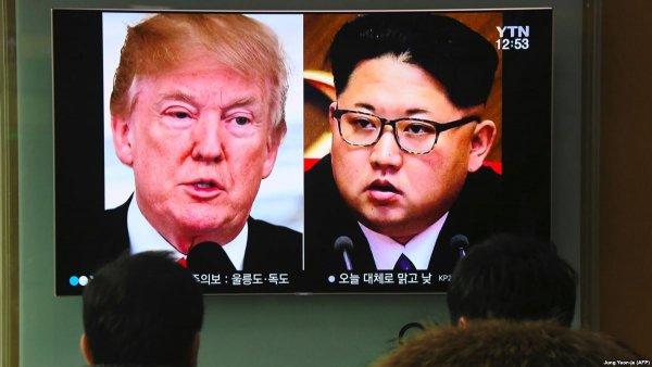 Стало известно место и время встречи Дональда Трампа и Ким Чен Ына