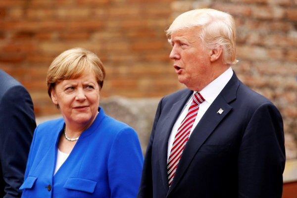 Меркель раскритиковала Трампа за устаревшие расчеты