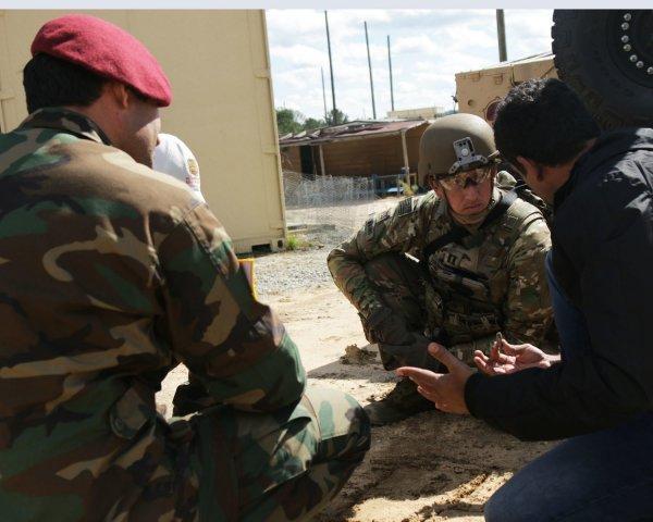 В Сирии террористы уничтожили четверых американских военных