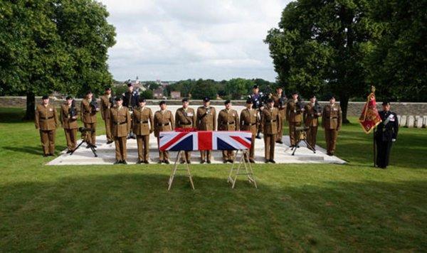 Солдат, погибший во Второй мировой войне, был найден через 74 года