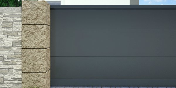 Стандартная гамма цветов для алюминиевых въездных ворот АЛЮТЕХ получила новый цвет
